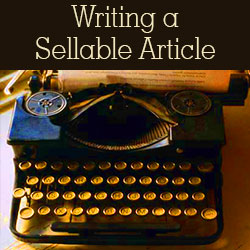 How to Write and Sell Articles